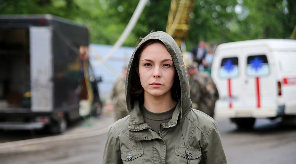 Анна Топчій: Подобається бути єдиною дівчиною на знімальному майданчику