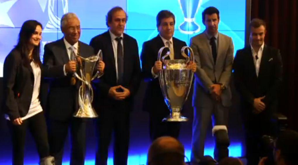 Трофеї Ліги Чемпіонів УЄФА та Жіночої Ліги Чемпіонів УЄФА прибули до місця проведення фінальних матчів