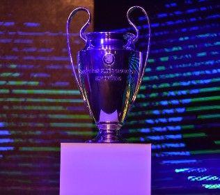 У Києві презентували Кубки Ліги чемпіонів та логотипи фіналів турніру (ФОТО)