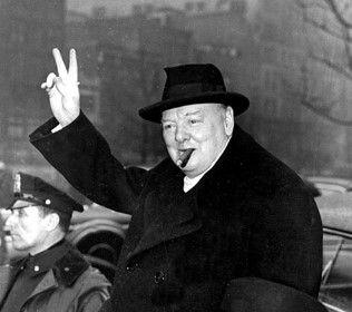 Вінстон Черчилль чув голоси