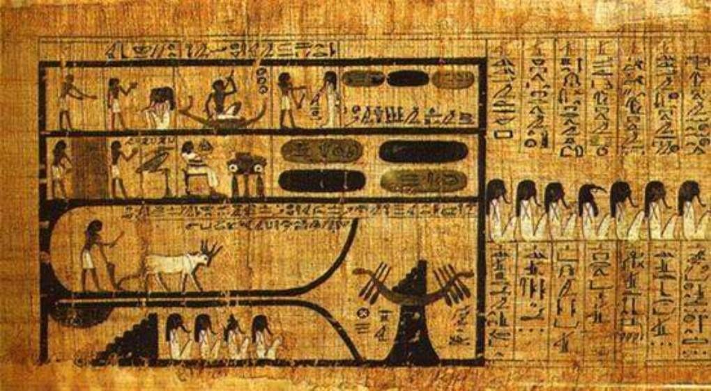 Єгипетська Книга Мертвих: екскурсія до підземного світу