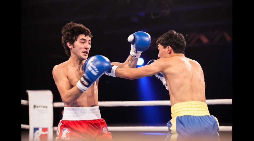 Азат Усеналієв пробив потужну двійку та помітно травмував око суперника
