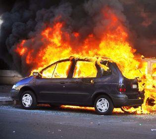 У Києві вибухнула автівка