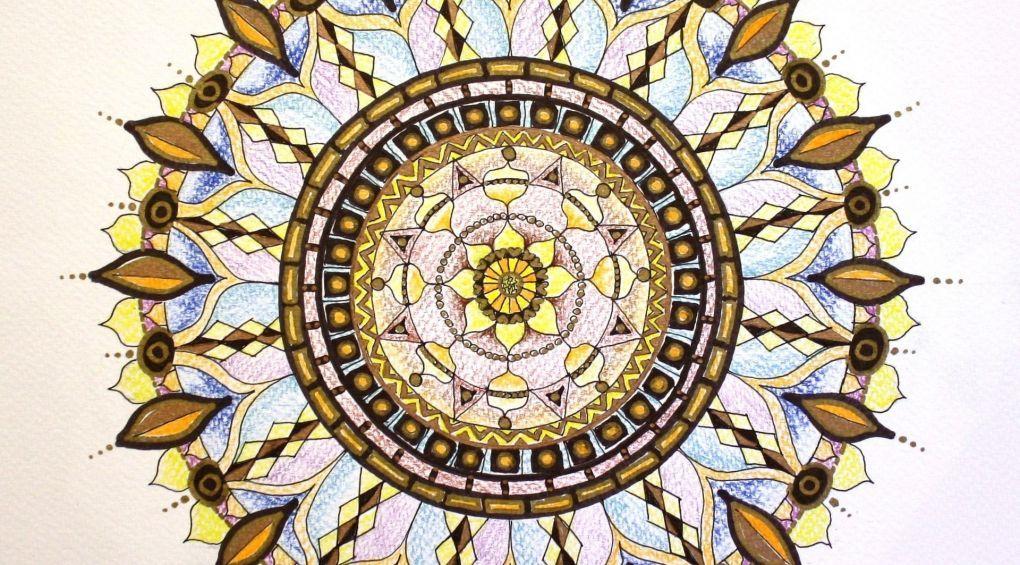 Мандала – символ Всесвіту, що передає глибокий сенс