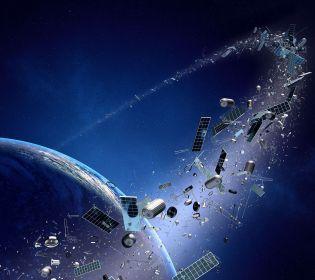 Дрони боротимуться з космічним сміттям