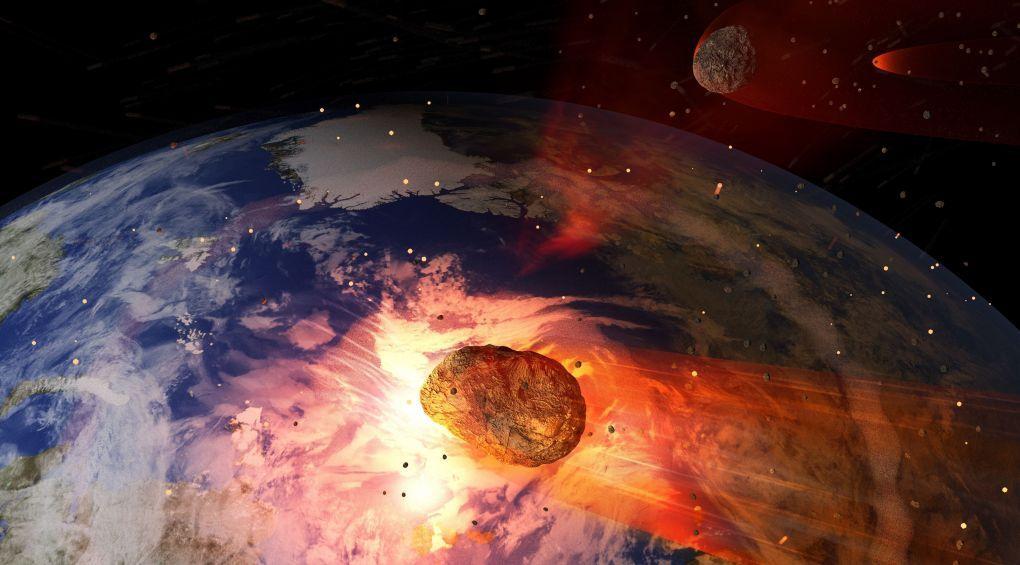 В США мужчина 30 лет подпирал редким метеоритом двери