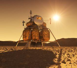 Китайцы открыли марсианскую базу