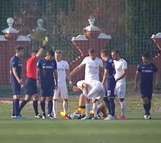 Колос-Дніпро-1:1. Страшна травма й суддівський скандал в Першій лізі