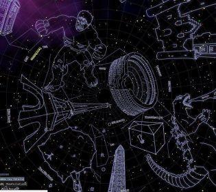 Ейнштейн, Доктор Хто та Ґодзілла – у NASA показали карту нових сузір'їв