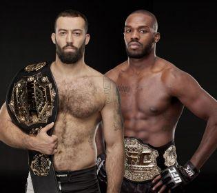 Екс-чемпіон UFC Джон Джонс та чемпіон WWFC Роман Долідзе проведуть спільний тренувальний збір в США