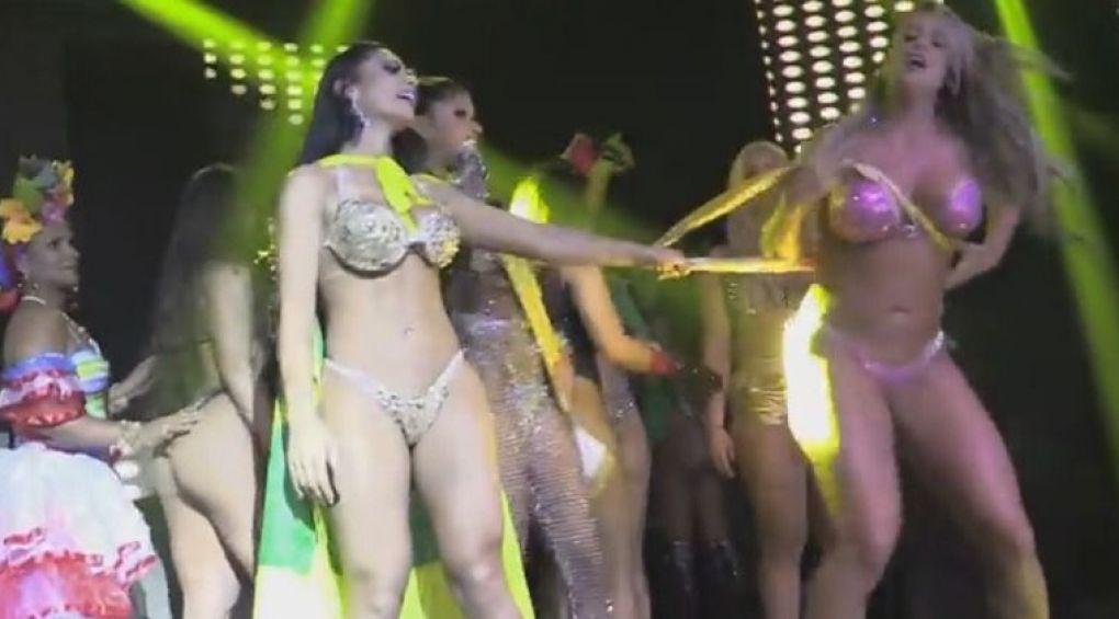 Учасниці конкурсу найкрасивіших сідниць побилися після оголошення переможців