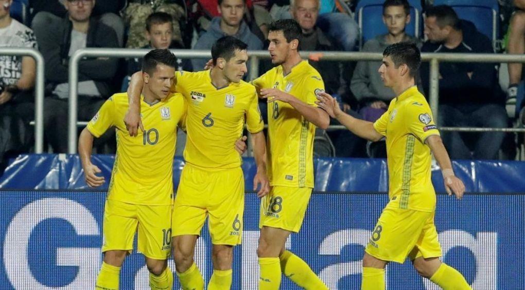 Сборная Словакии дома разгромила украинскую команду