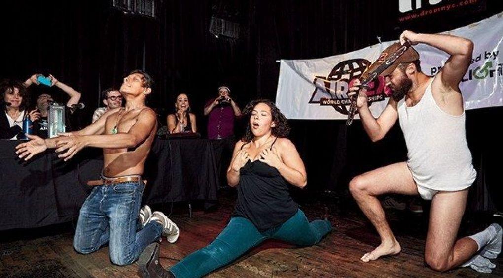 Покажи секс і виграй приз: навіжені змагання Air Sex