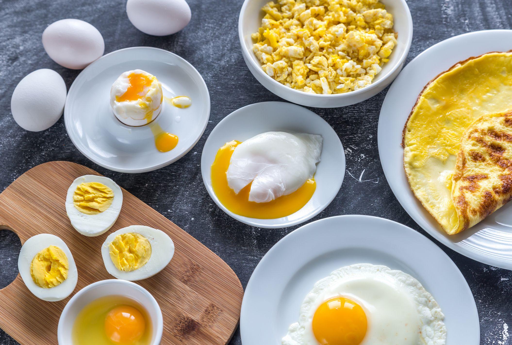 Топ-5 легких рецептів із яєць