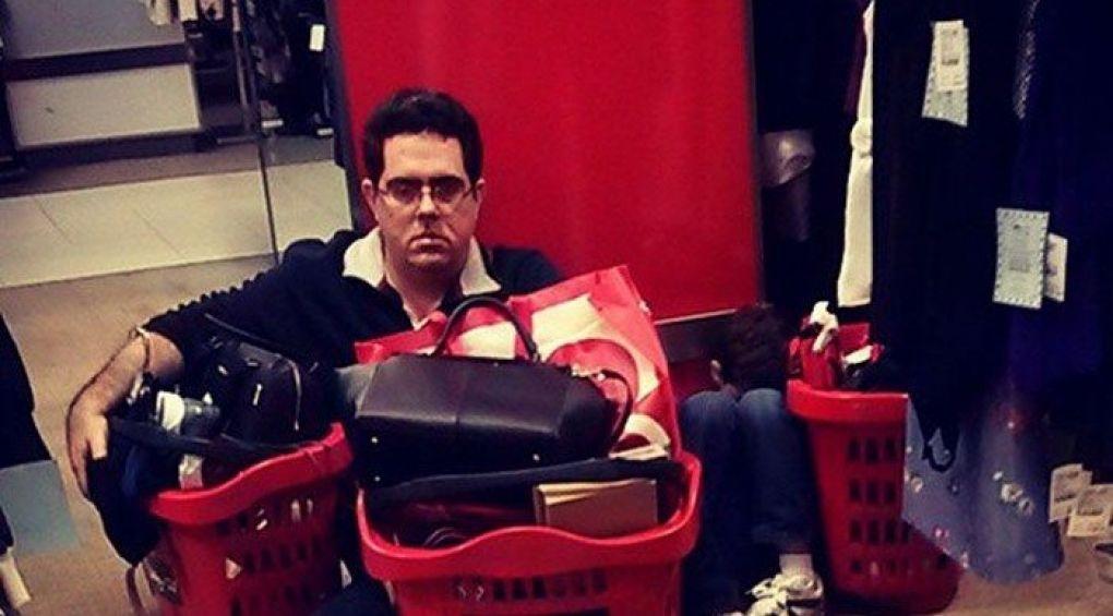 Як чоловіку пережити жіночий шопінг: кумедна фотодобірка