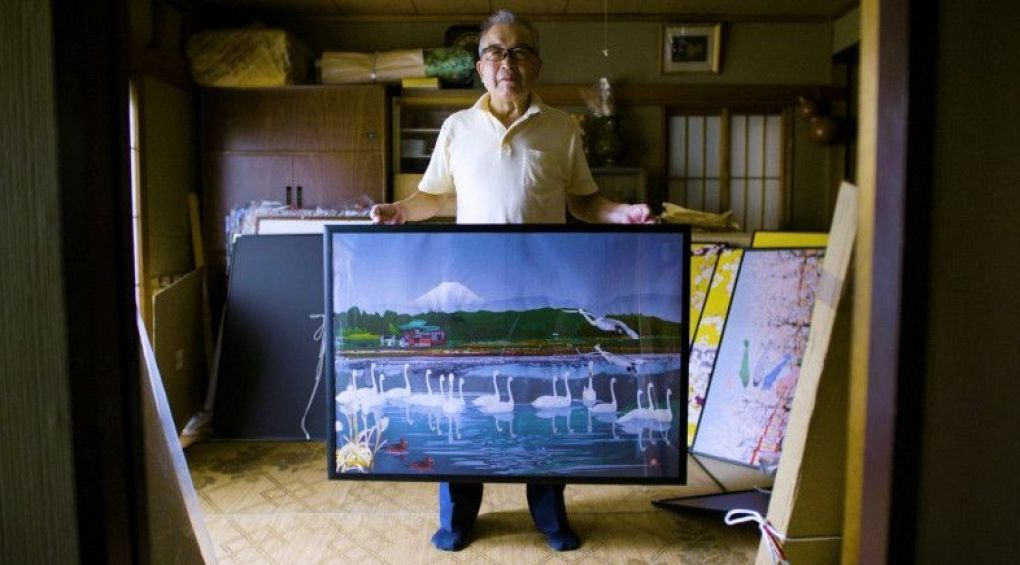 Японський дідусь перетворює нудні таблиці Excel в твори мистецтва
