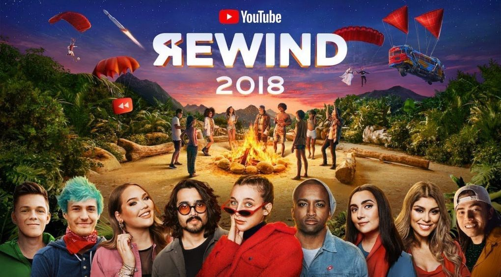 YouTube опубликовал ежегодный клип-обзор мемов и трендов Rewind 2018