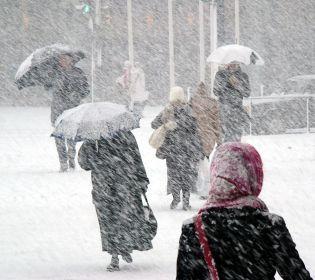 Наслідки снігового циклону в Україні