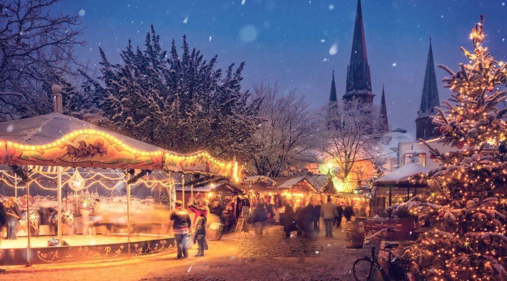 Самые красивые рождественские ярмарки Европы: фотоподборка