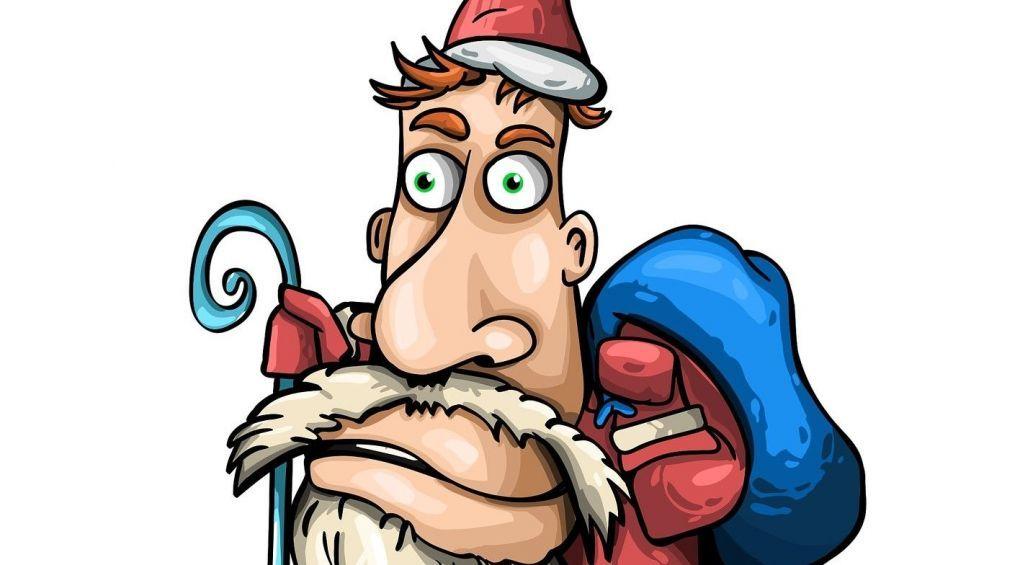 Фаталити: в Одессе подрались Деды Морозы
