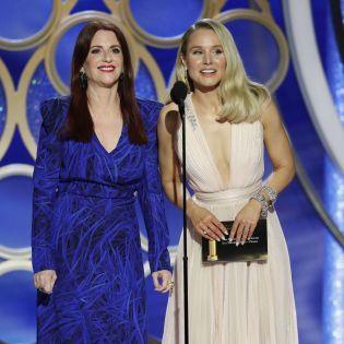 Американская актриса выбрала для  Золотого глобуса украинское платье