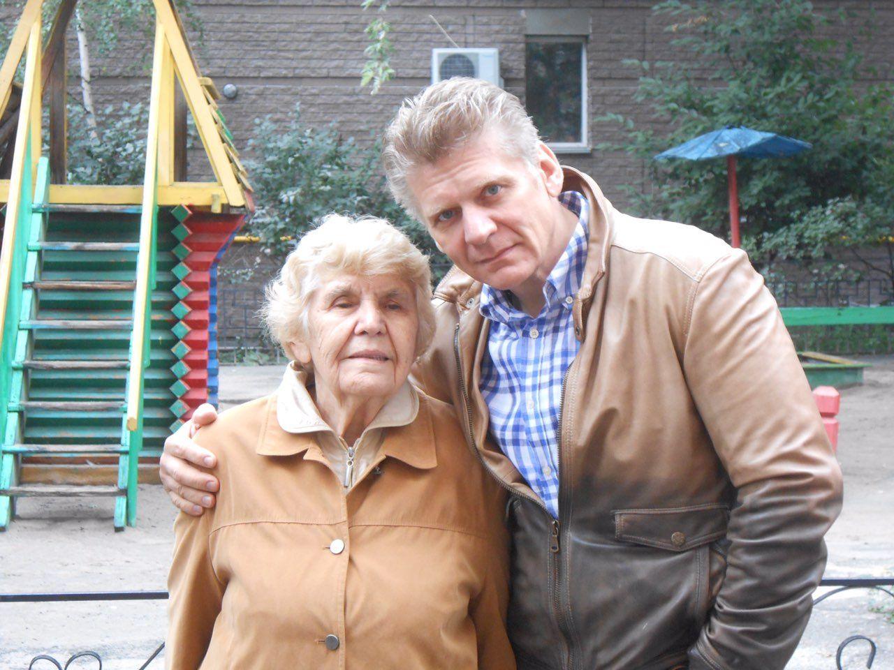 З мамою Неоніллою Федорівною.