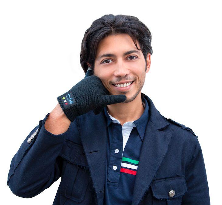 перчатки-телефон