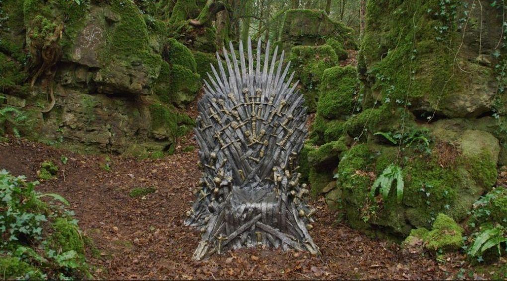 Квест для фанатов Игры престолов: найди Железный трон
