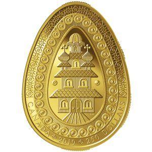 Монета писанка
