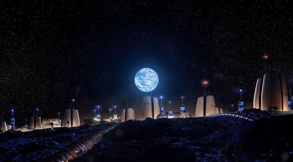Американські архітектори розробили проект поселення на Місяці