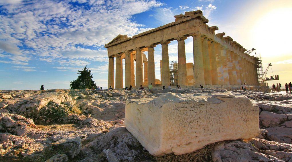 История в гифках: смотрим, как выглядели древние памятники архитектуры