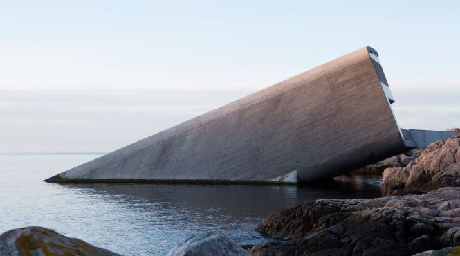 У Європі з'явився перший ресторан під водою