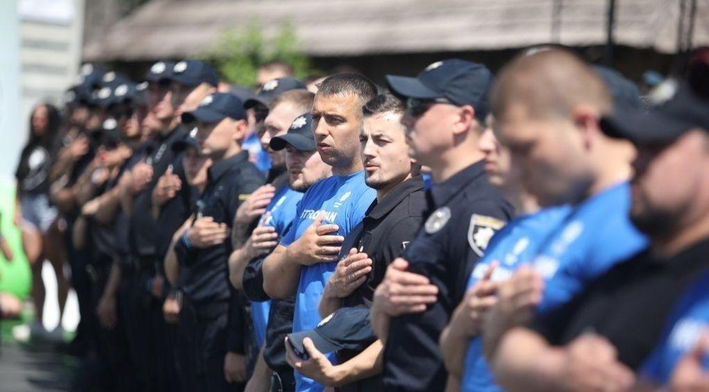 В Украине проходит чемпионат патрульной полиции