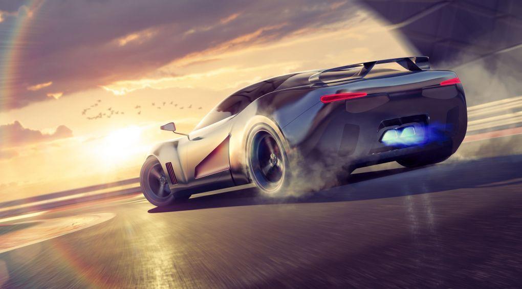 Авто из будущего: Компания Lotus представила сверхмощный электрокар (видео)