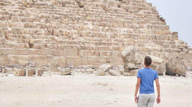 Туристи зможуть потрапити до унікальної «ламаної» піраміди в Єгипті