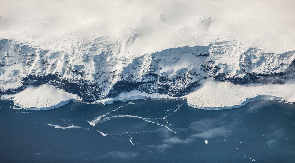 В Антарктиде нашли гигантское человеческое «лицо» (видео)
