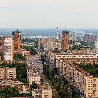 Левый берег Киева «засветился» на презентации нового iPad