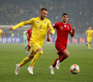 Україна перемогла Португалію і вийшла на Євро-2020