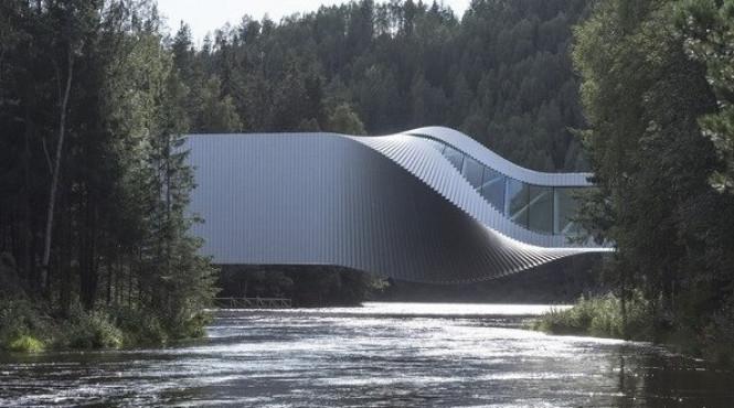 Сучасна новинка від архітекторів: У Норвегії створили перший «музейний міст»