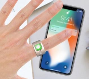Так просто: Apple запатентует «умное кольцо»