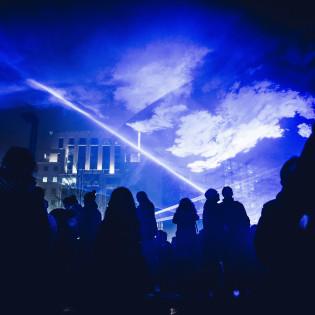 У Чорнобилі відбулося лазерне шоу (відео)