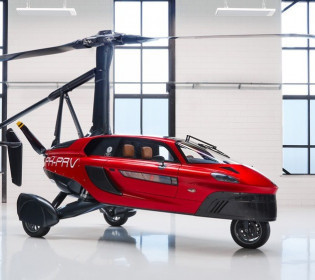 Выше неба: В США продают первый в мире летающий автомобиль