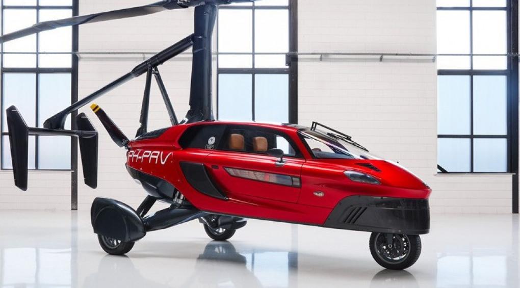 Вище неба: У США продають перший у світі літаючий автомобіль