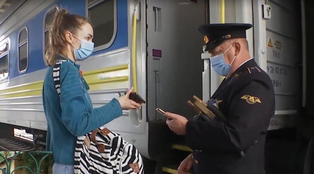 Украина восстанавливает железнодорожное сообщение с Европой