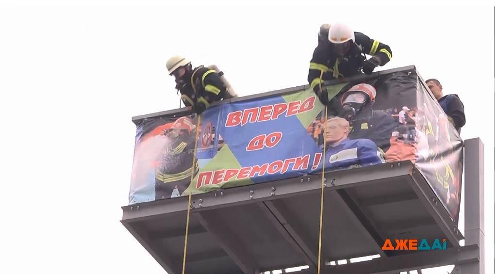 В столице за звание сильнейшего боролись пожарные