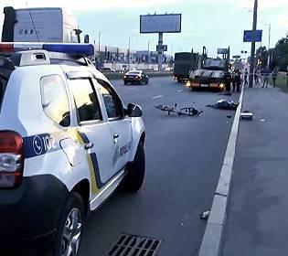 В Киеве пешеход убил велосипедиста