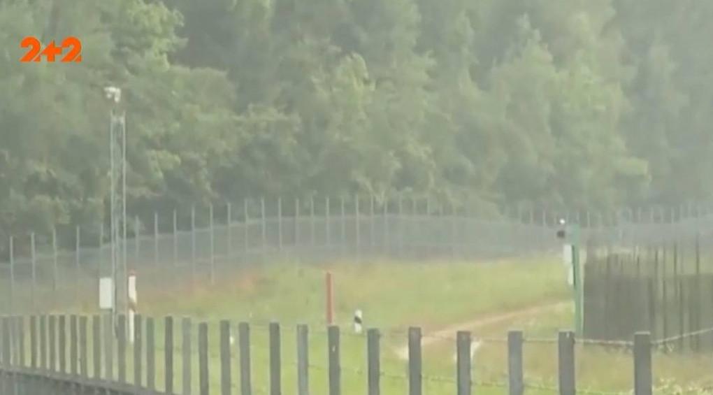Литва будує величезний паркан на кордоні з Білоруссю