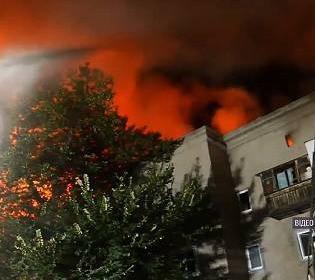 Вибух у Запоріжжі: люди залишилися без домівок, а один пожежник – у лікарні