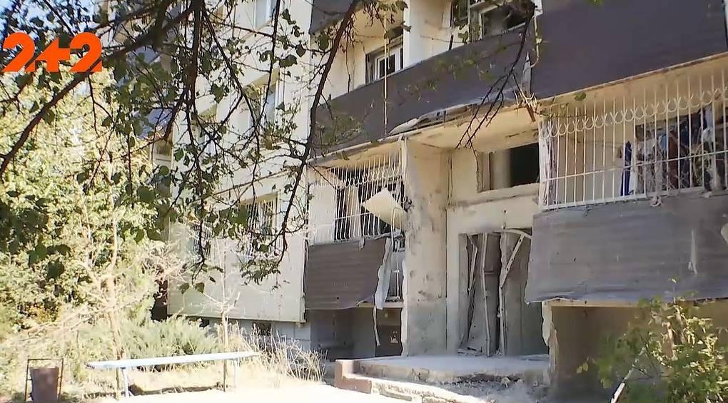Стріляли у людей: російські окупанти розстріляли багатоквартирний житловий будинок