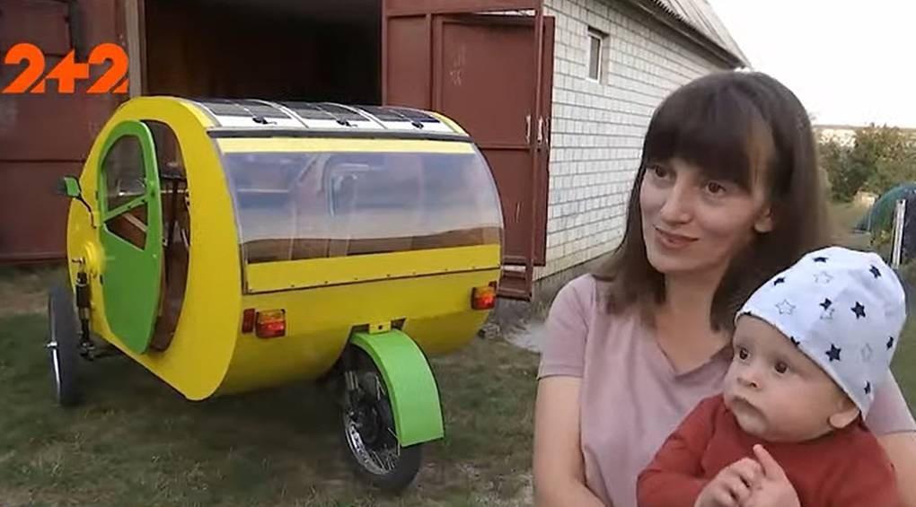 Велоелектромобіль: друзі-винахідники створили економний транспортний засіб